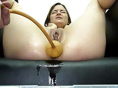 Miss April  A Huge Soapy..