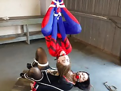 Spidergirl Caught and Unmasked