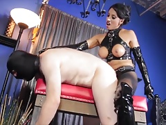 Domme boinking her sub boy..