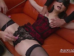 roped Mummy Unloads all over