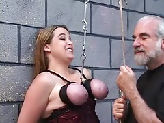 Bound Boobs Suspended Cord