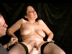 Mature slave with..