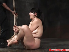 Analhooked fetish marionette..