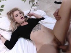 Arya Faye is bound up on the..
