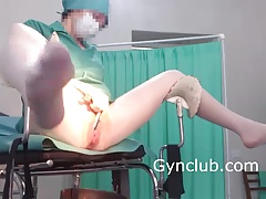 nurse stroking on a..