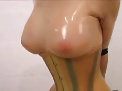 Latex Female - Sybian saddle..