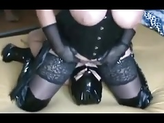 German plus-size domme booty..