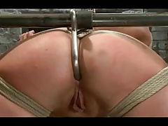 Girl-on-girl Hogtied