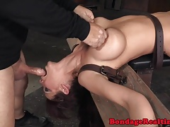 Bigtitted slave gullets..