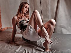 Provocative jute trussed..
