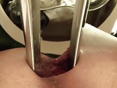 speculum, assfuck close up,..