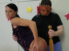 Painful anal chastisement..