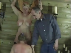 two older femmes love sadism..