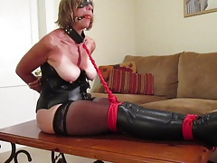 fights in her restrain bondage