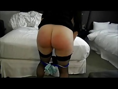 Plump Wifey Spanked For..