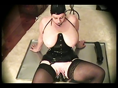 Latex-Fetish-BBW with Large..