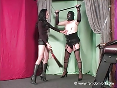 Domme penalizing and..