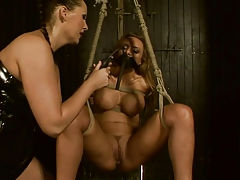Busty Domme vs Squirting..