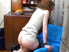 Mistress has ass and cunt..