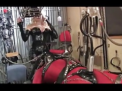 Wanking machine and electrics