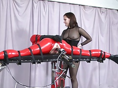 BDSM Tearing up machine.