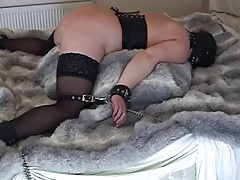 Mature Cockslut used Roped Up