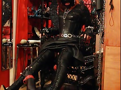 Trampling in leather