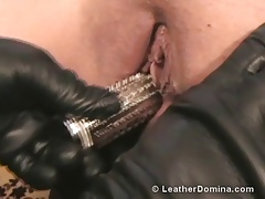 The Leather Domina - Spike..