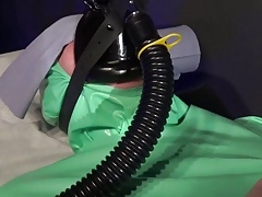 Anaesthetic Rebreathing Mask..