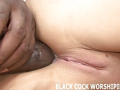 ebony fuck-sticks are going..