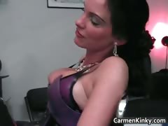 Kinky domme Carmen knows how..