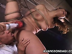 Insatiable Japanese babe in..
