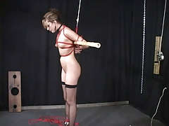 Slave tramp taunted and..