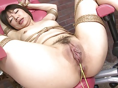 Girl's cock-squeezing..
