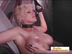 Huge-boobed Slave Badly  For..