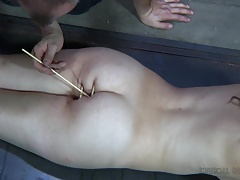 Captive girl used in a  for..