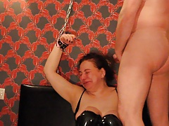 Arab Russian Slut Shackled..