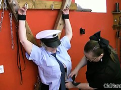 sexy mature police seduced..